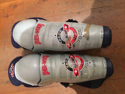 Sherwood ice hockey leg pads Erskineville Inner Sydney Preview