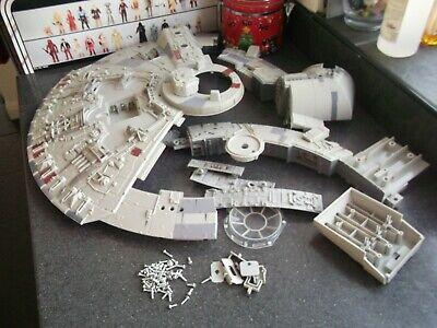 "Star Wars 2008 Millennium Falcon Legacy 3.75"" Hasbro - spare sections bundle"