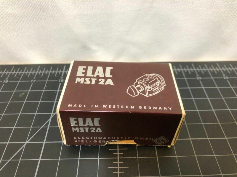 NOS Brand New ELAC Miratwin MST-2A Mono Cartridge Triple Play