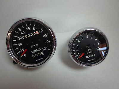 1968 Yamaha DT1 250 enduro tachometer and speedometer for sale  Aliso Viejo