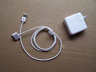 Genuine Apple iPod Nano Charger A1070 Firewire Cable 591-0192 Generation 1 To 4 Ipod Nano Ac Adapter