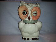 Shawnee Owl Cookie Jar