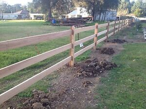 Fencing stable fencing Kemps Creek Penrith Area Preview