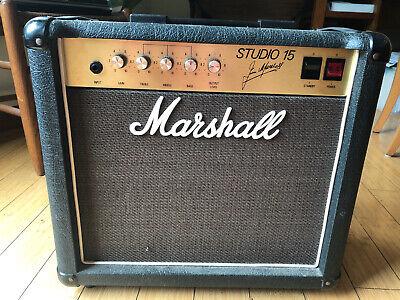 Marshall Studio 15 Amplifier (Studio Classic)