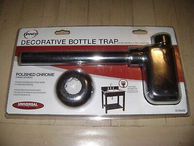 Danco Chrome Decorative Bottle Trap - Universal Bathroom Sink Fit 319938 Decorative Lavatory Trap