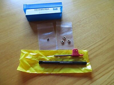Small Internal Threading Tool Boring Tool With 3 Carbide 11 Ir A 60 Inserts