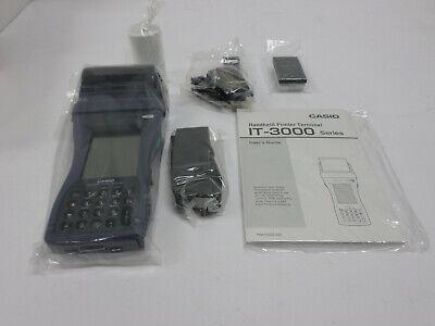 Casio It-3000 Hand-held Printer Scanner Terminal Wbluetooth M53e New In Box