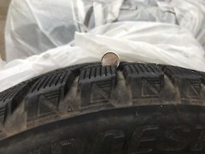 Excellent condition winter tires and rims