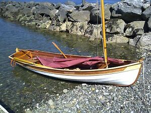 14' Custom-built Sailboat
