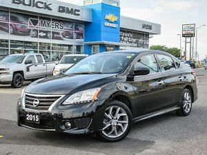 2015 Nissan Sentra SR, AUTO, SUNROOF, LOADED, 2 SETS OF TIRES
