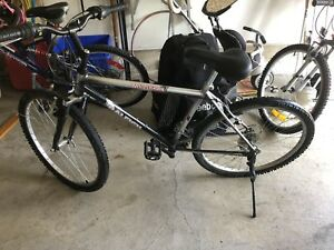 "26"" Raleigh Mountain Bike with front suspension. Mint Condition."