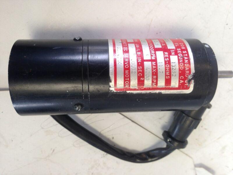 Used Glentek Gm2320a Servo Motor, Shaft Diameter: 6mm, Shaft Length: 24mm  Fg