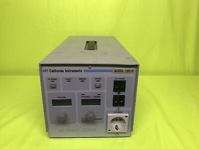 California Instruments Ac Power Source Model 1001p