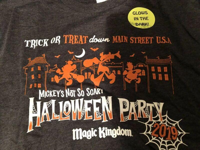Disney Mickey's Not So Scary Halloween Party Magic Kingdom 2019 Tshirt Unisex Xl