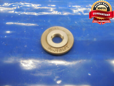14 19 Bspt Pipe Thread Ring Gage .25 14-19 .250 .2500 B.s.p.t. Inspection Tool