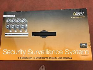 QSEE security surveillance system - 8 cameras Highett Bayside Area Preview
