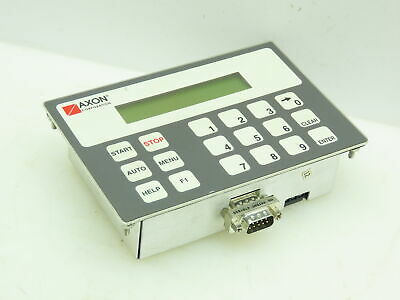 Maple Systems Oit3160-a00 Axon Operator Control Module Panel Backlit Lcd Display