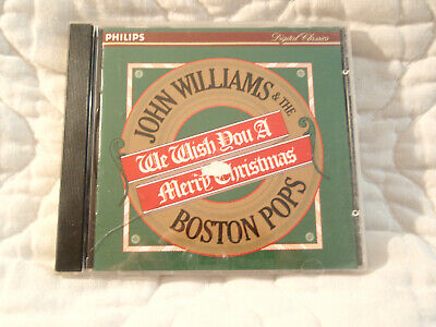 WE WISH YOU A MERRY CHRISTMAS JOHN WILLIAMS & AND THE BOSTON POPS CD JOHN OLIVER ()