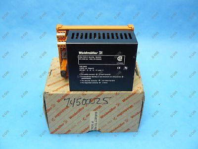 Weidmuller 991748 Power Supply 24 Vdc 2.1 Amp 115-230 Vac Din Rail New