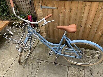 Veloretti Robyn (Havana Blue, size 52cm) - ladies Dutch city bike With Extras