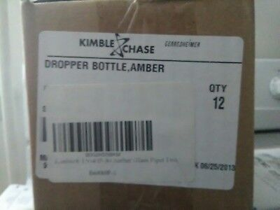 Kimble Chase 15040g-30 Glass Bottle Wdropper 30ml 1 Case Of 72 Bottles
