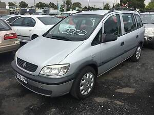 2002 Holden Zafira Auto 7 Seater Wagon REG & RWC Oakleigh East Monash Area Preview