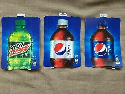Hbv Flavor Strips For Pepsi Vending Machine Pk Of 6 20oz