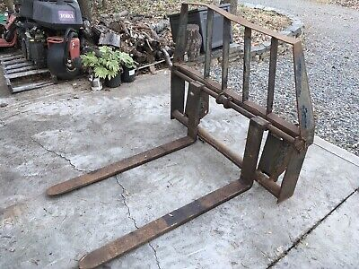 Tractor Fork Attachment Forklift Forks Skid Steer