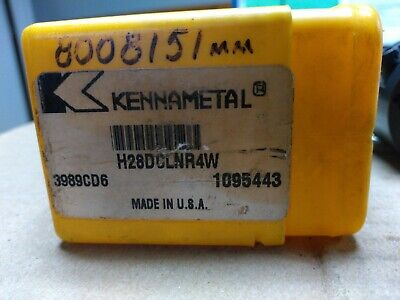 Kennametal Interchangeable Boring Head. H28-dclnr4w Nh2. 3989cd6. 1095443. Used.