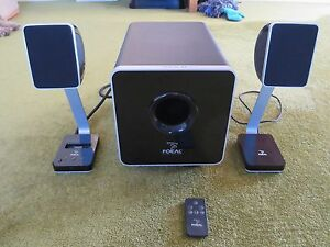 Focal XS 2.1 Computer Speaker System Maroubra Eastern Suburbs Preview