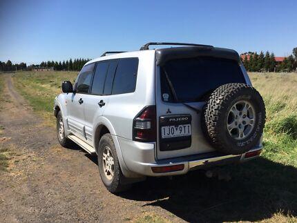 2001 Mitsubishi Pajero Limited edition Tanami