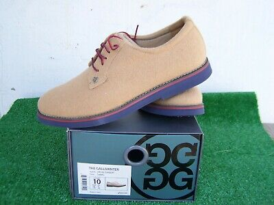 G/Fore The Gallivanter Camel Hair Upper US Size 10 Spikeless Golf Shoes NEW