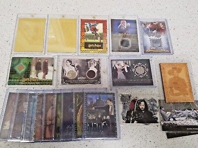 Harry Potter Lot of Costume Cards Printing Plates Emma Watson Hermione Granger