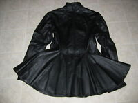 LEATHER DRESS / SIZE 8-10.