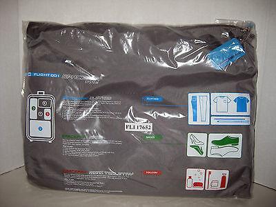 Flight 001 F1 SPACEPAK Set Grey Travel Bag Packing Cubes Nylon Shoes Toiletry
