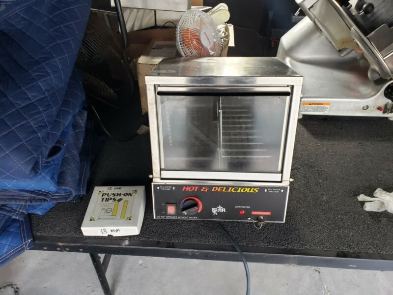 Commercial Star Hot & Delicious  Hot Dog Machine - Silver
