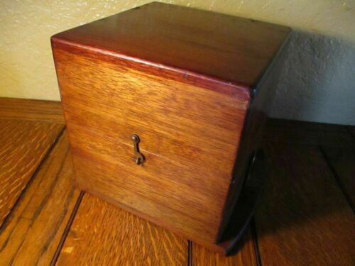 "Hamilton 36 Size, Mounted Chronometer Box WWI. ""Blue Felt in Great Condition"""
