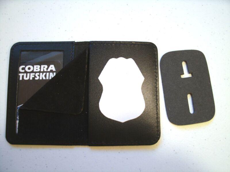 Badge ID Case Holder  US Army CID Agent Badge CT-14 LG Leather