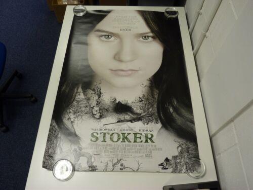 Stoker+Nicole+Kidman+Mia+Wasikowska+Original+Movie+Poster+One+Sheet+69x102cm