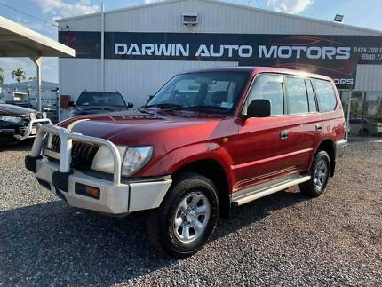 2001 Toyota LandCruiser PRADO RV Manual SUV Durack Palmerston Area Preview
