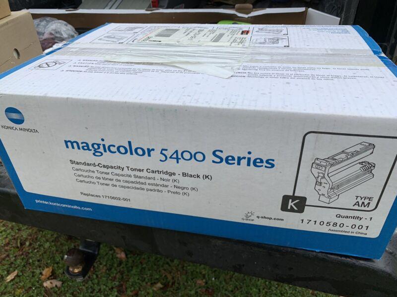 Konica Minolta Magicolor Series 5400 Toner Cartridge New - Black