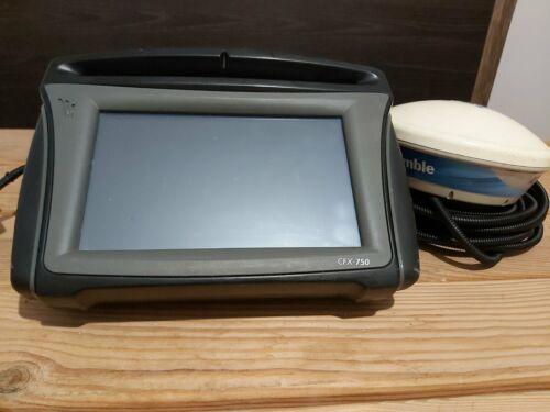 Trimble monitor Receiver CFX750 RTX/RTK with antena  AG25 pn 94510-60