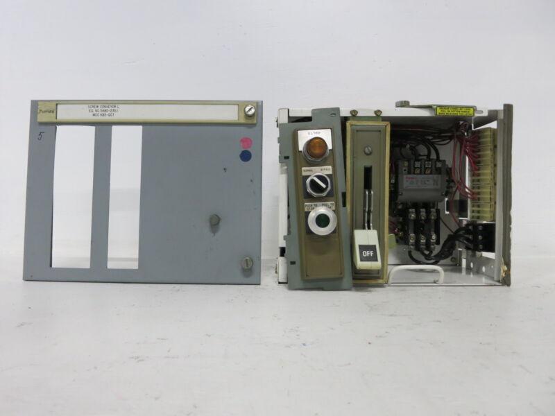 "Siemens Tiastar Furnas System 89 Size 1-3/4 Starter 60 Amp Fused 12"" MCC Bucket"
