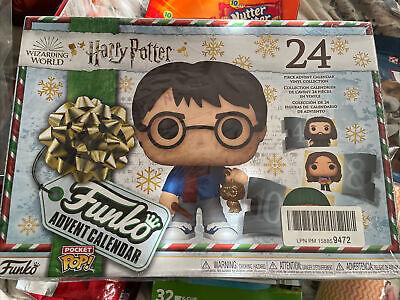 Harry Potter 2020 Edition Pocket Pop! Advent Calendar SEALED ITEM in HAND