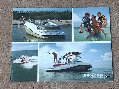 2008 Sea Doo BOAT Sales Brochure
