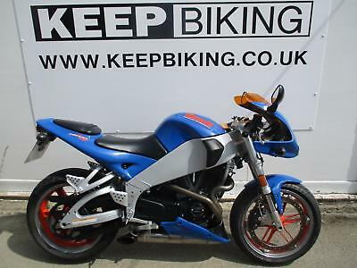 2002 BUELL XB9R FIREBOLT  ONLY 12096 MILES. COLOURED SCREEN. BRAIDED HOSES.