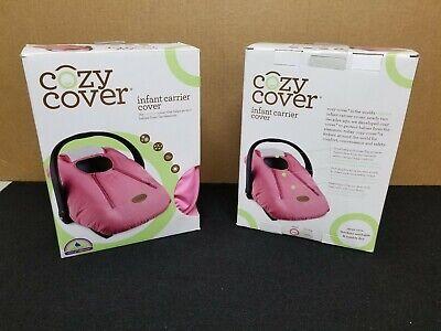 आरामदायक कवर शिशु वाहक कवर - सुरक्षित बेबी कार सीट कवर - गुलाबी