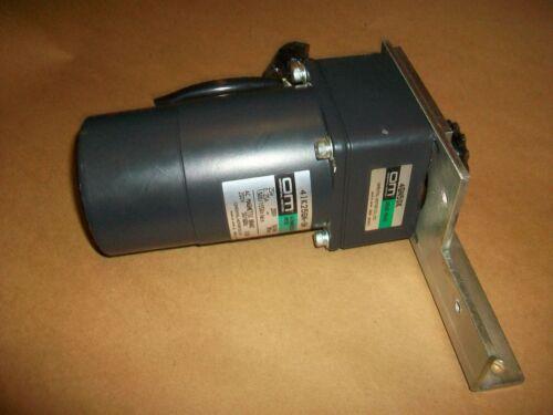 Oriental Gear Motor 4IK25GN-SM  25watt  220v 3phase w/ 4GN50K Gearhead