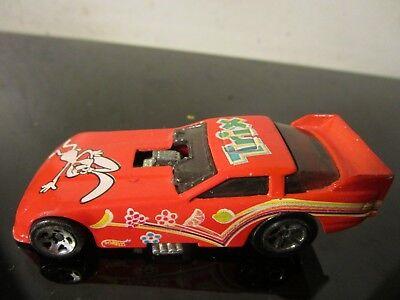 VINTAGE 1977 HOT WHEELS RED FUNNY CAR TRIX CEREAL~