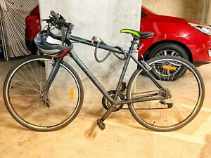 Pedal Pacer Flat Bar Road Bike Charcoal With Anthi Theft Lockbr Purchased From 99 Bikes In Oct 2017 Mens 54cmbr Perfect Condition Normal Tear And